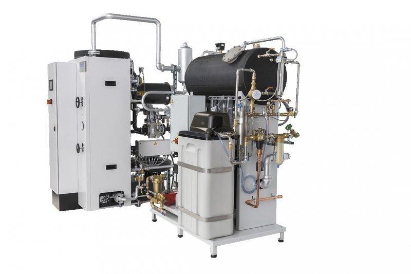 Installation complète - Chaudières à vapeur -