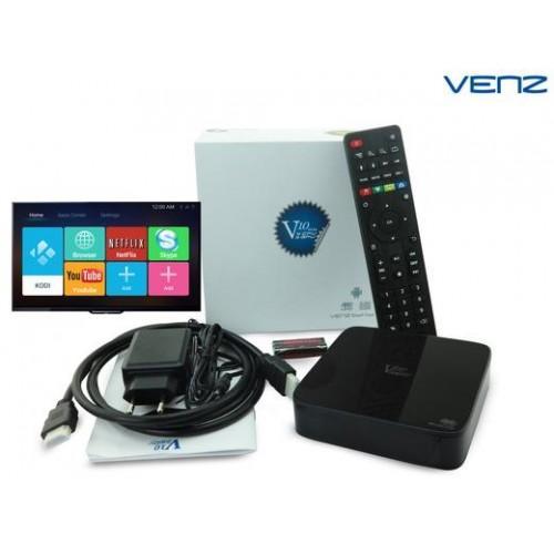 Venz V10 Android 5.1 streaming TV Box met 4K ondersteuning - Maak van uw TV een complete Smart televisie