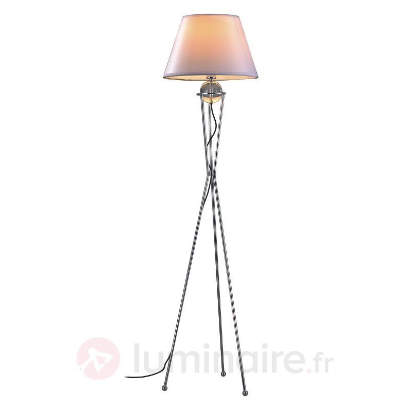 Agréable lampadaire Zsa - Lampadaires en tissu
