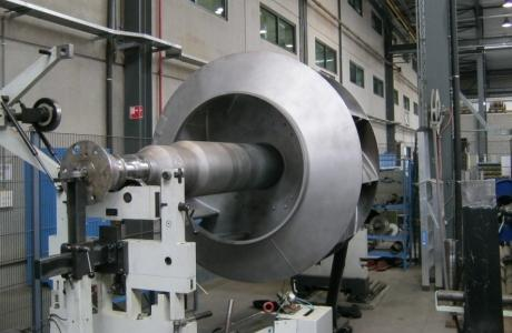 Fans - Centrifugal Axial Fan units (fan + motor), maintenance & repairs
