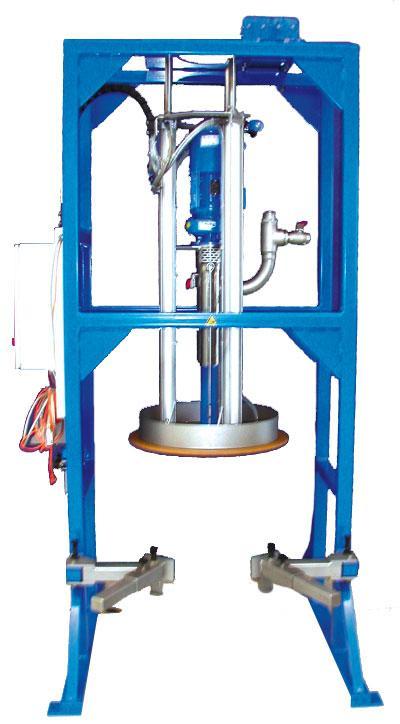 Barrel emptying ViscoMT-XL / tank emptying  - optimum residual discharge
