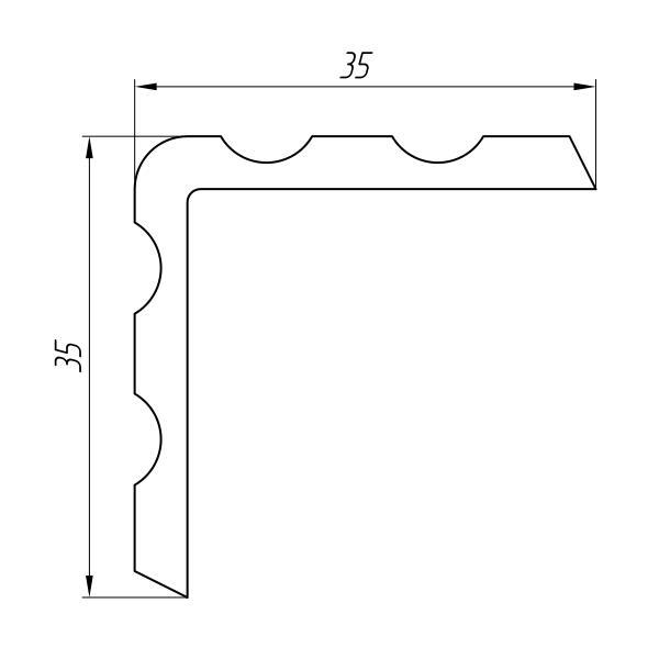 Aluminum Profile For Car And Rail Car Building Ат-1889 - Aluminum profile for mechanical engineering