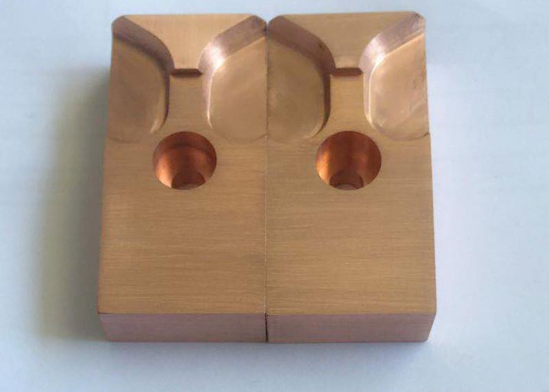 CNC machining Copper die - Customized different size of cnc machining copper die