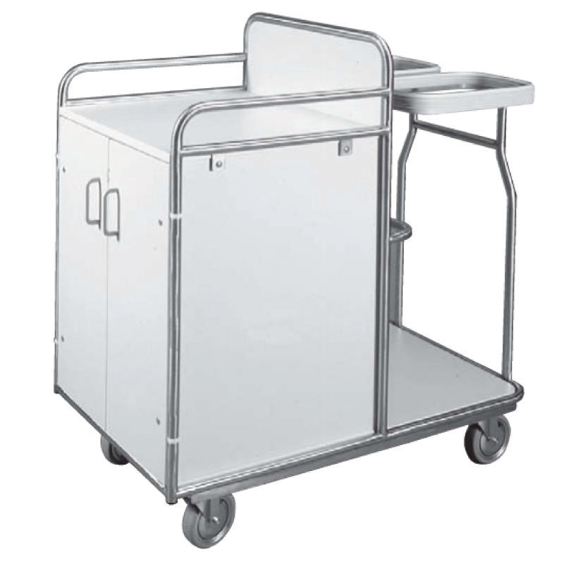 Stations- und Wäschewagen mit 2 Einspannringen - Sie sind hier: