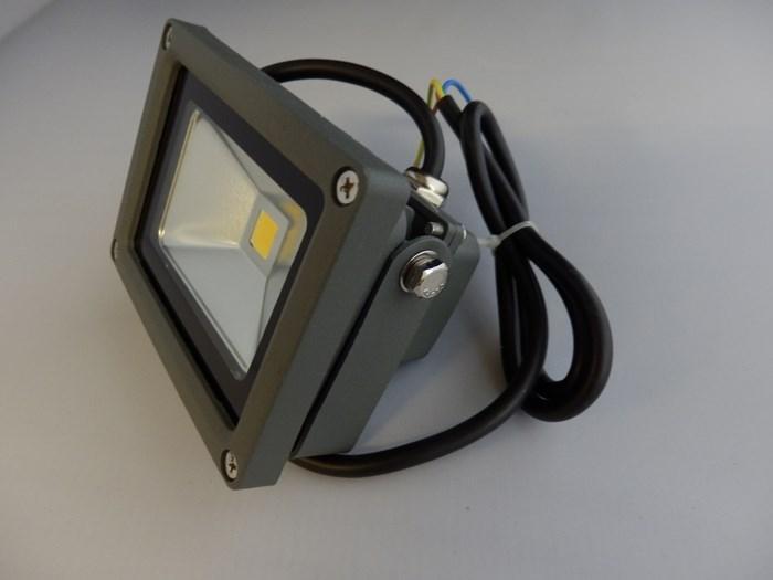 Mini projecteur LED 10 W gris 6000K - Armatures d'éclairage