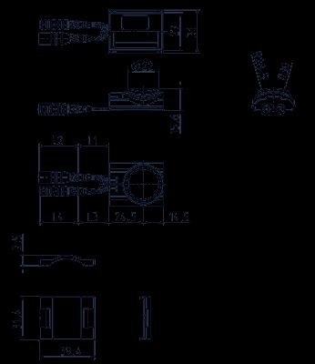 Capteur multifonctions, détection automatique de la tension - IRS-WT-x.-