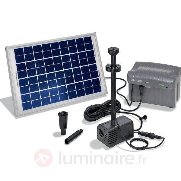 Sytème de pompe solaire Napoli LED - Pompes pour bassin