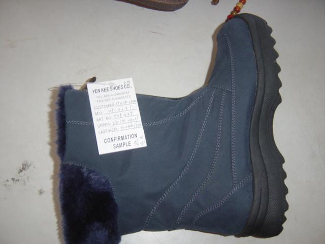 Botas de lana gruesas - Multicolor / 36-41