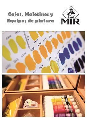 Maletines y cajas para pintor completas - Para Iniciarse y Profesionales