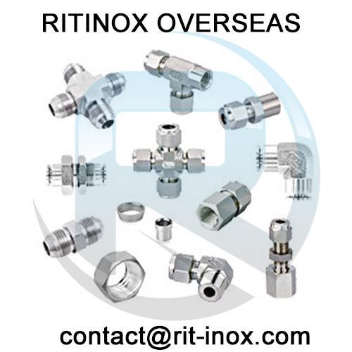 Titanium Gr 2 Male Bulkhead Connector -