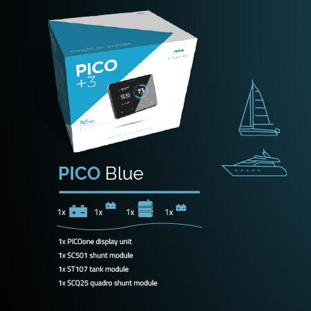 Pico Blue Package - Pico battery monitor