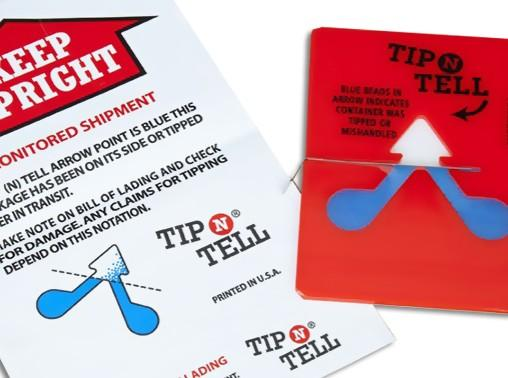 Tip N Tell Labels - including shipping labels -