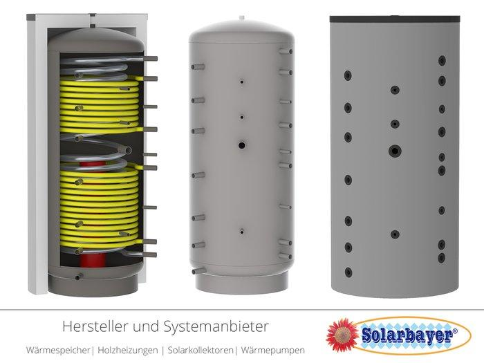 Solarbayer Hygiene-Kombispeicher  - HSK-ÖKO