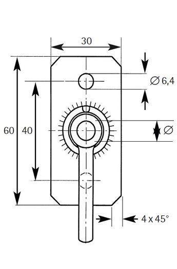 Typ S-SP - S 0814 SP 30x3x60