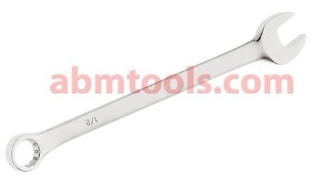 Combination Open & Ring End Spanner - CRV - Both ends generally fit the same size of bolt.