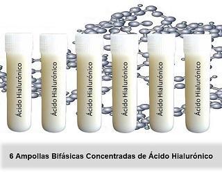 Tratamiento Ampollas Bifásicas De Acido Hialuronico - null