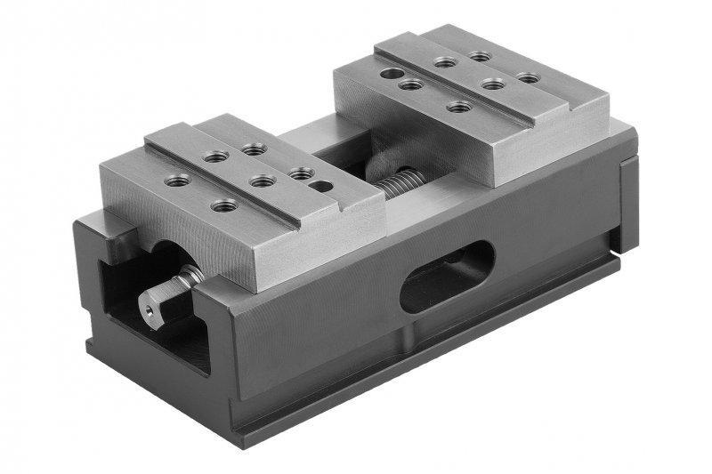 Zentrisch-Spanner Backenbreite 80-125 mm - Mechanisch betätigter Zentrisch-Spanner, automationsfähig und flexibel