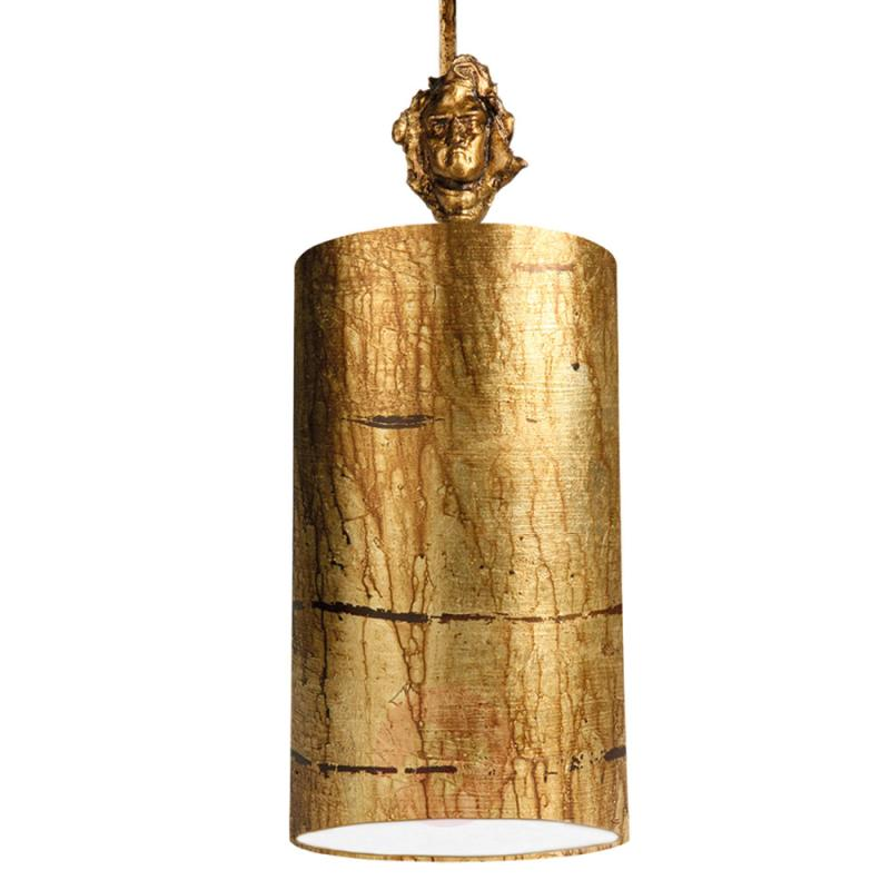 Fragment Gold - hand-decorated pendant light - indoor-lighting
