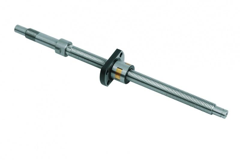 Miniature ball screw linear actuators ground