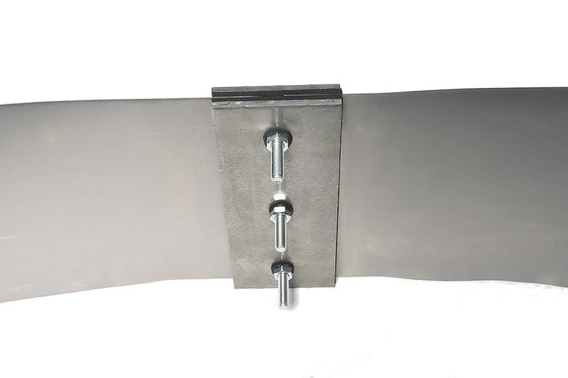 Joint sheet metal + joint tape connector - Joint sheet metal