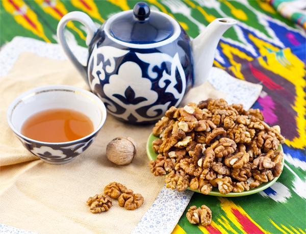 Грецкий орех - Грецкие орехи из Узбекистана