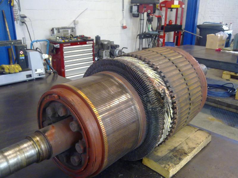 Induit Asea - Maintenance électro-mécanique en atelier