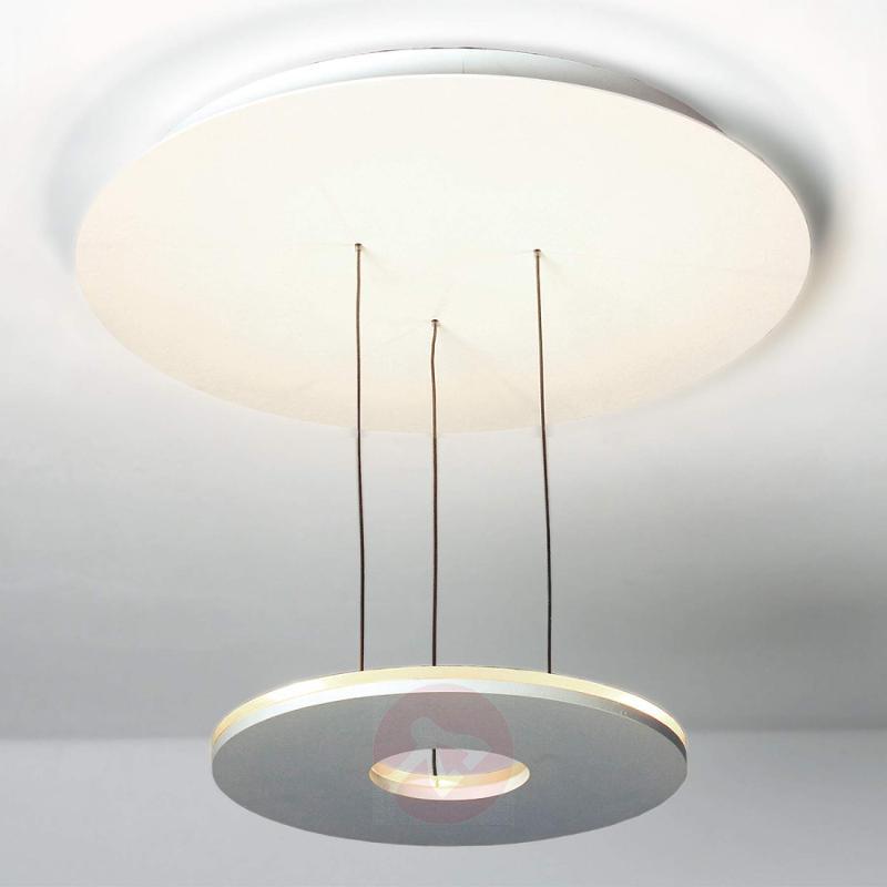 White LED light Saturn, controllable via app - design-hotel-lighting