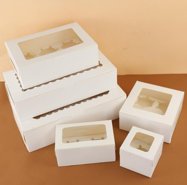 Cake/sandwich packaging box - Cake/sandwich/bread food packaging paper box