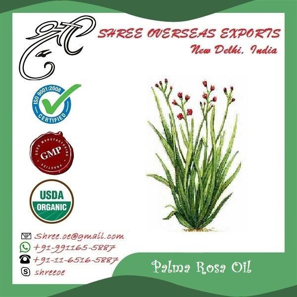 Organic Palmarosa Oil - USDA Organic