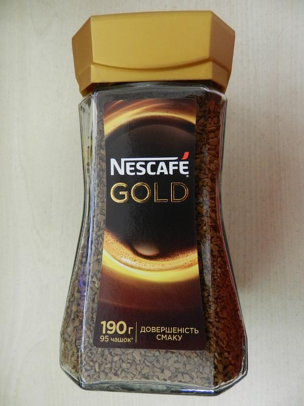 Nescafé Gold - Tea and Coffee Catalogue