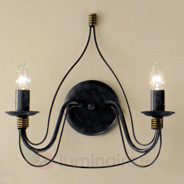Applique FILO à 2 ampoules - Appliques rustiques