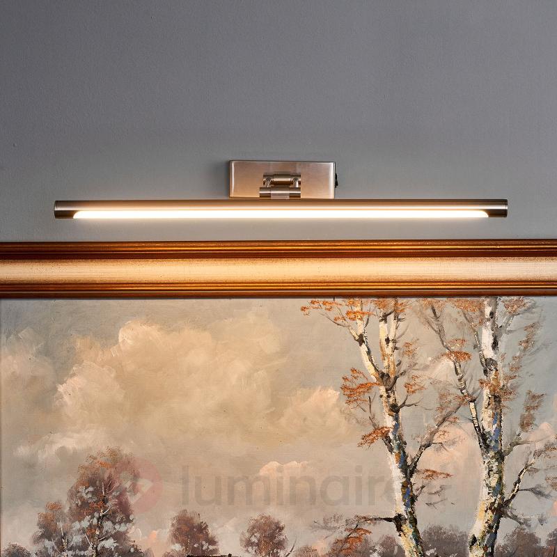 Merte - applique tableau LED en nickel mat - Appliques à tableaux