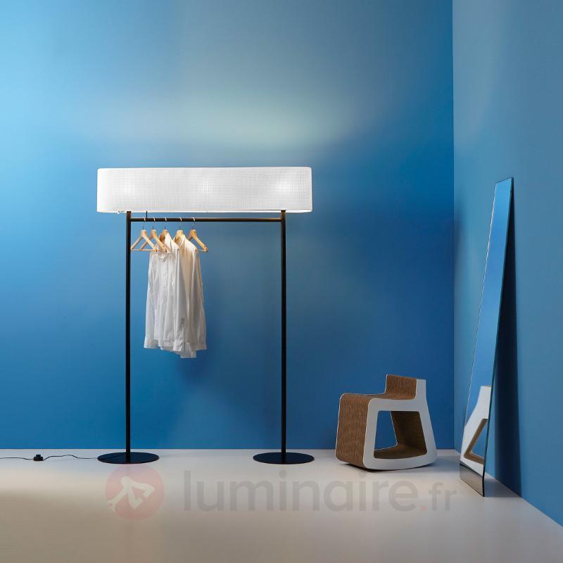 Nomad - lampadaire et garde-robe à la fois - Lampadaires design