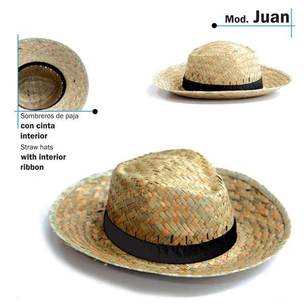 Chapeu de palha - Modelo Juan