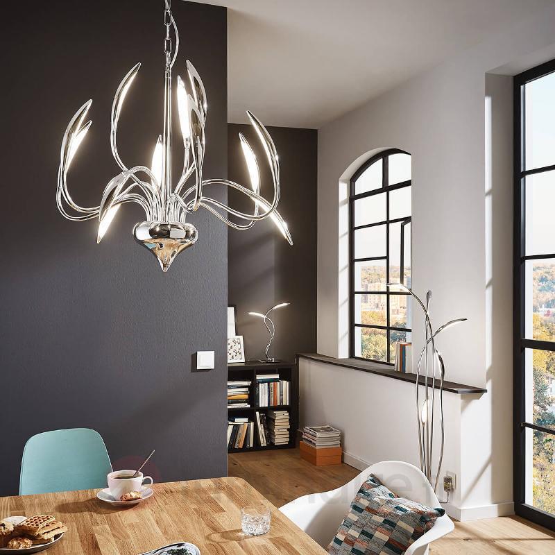Lampe à poser LED pleine de dynamisme Hampton - Lampes à poser LED