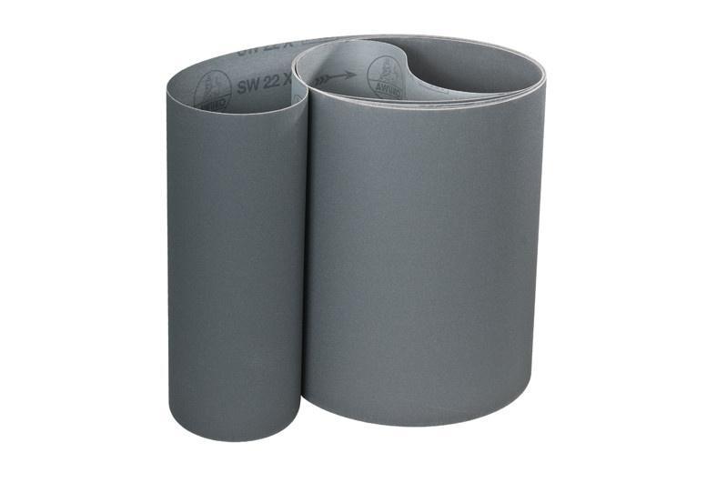 Schleifbänder für Glas / Stein, Metall SW22X - Körnungen: P180, P220, P240, P320, P400, P600