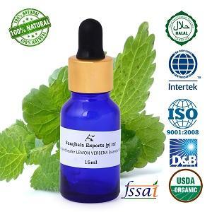 Ancient healer LEMON VERBENA OIL  15ml - LEMON VERBENA essential oil