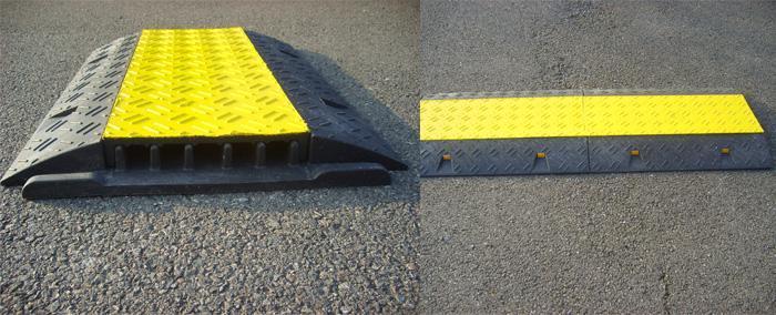 Signalisation caoutchouc & parking - Protèges câbles - null