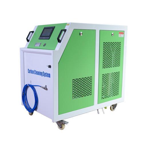Máquina limpiadora de carbón hho