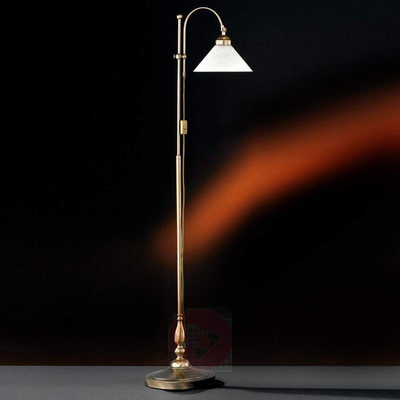 Antwerpen Floor Lamp Stylish Antique Brass - Floor Lamps