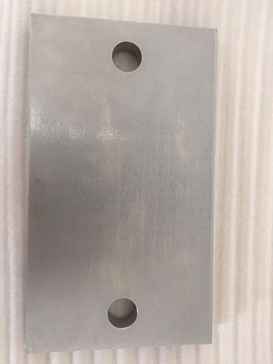 Big size metal milling part - Precision machining big size metal milling part