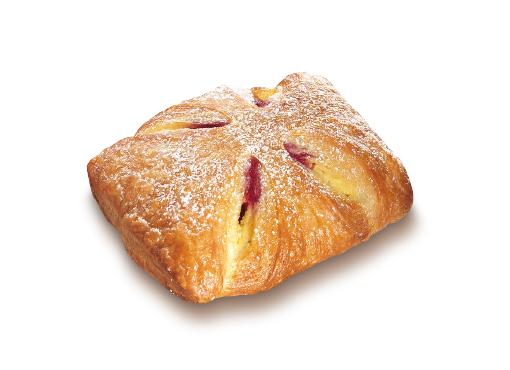 Raspberry Vanilla Turnover - Sweet filled pastries