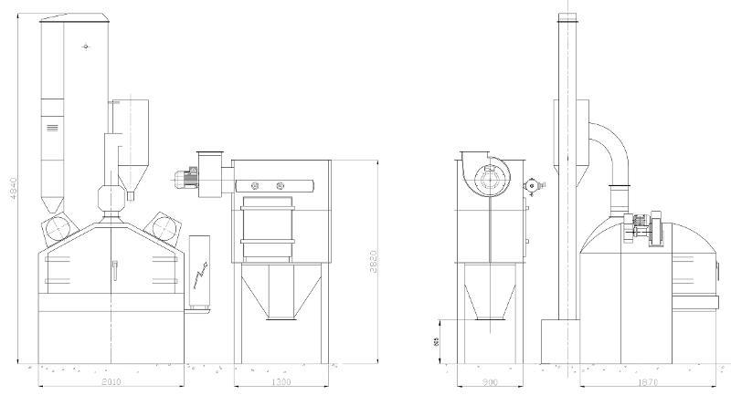COSER CS RT18 ex CM T18 - Sabbiatrici e granigliatrici