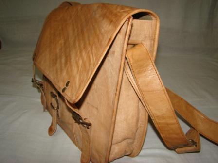 Leather Messenger  - Handmade vintage Leather Messenger Bag