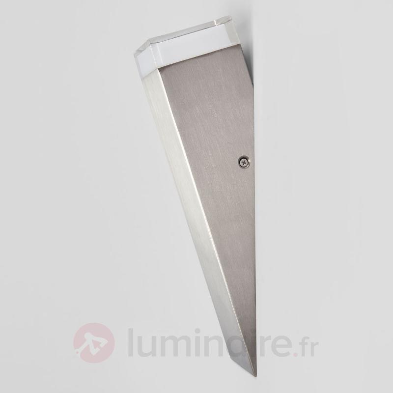 Applique pour l'extérieur en inox Tabo LED - Appliques d'extérieur inox