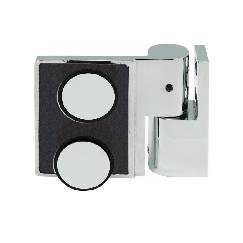 Lift- / Lowering shower hinge glass-wall 135°, left - Lifting lowering shower door hinges
