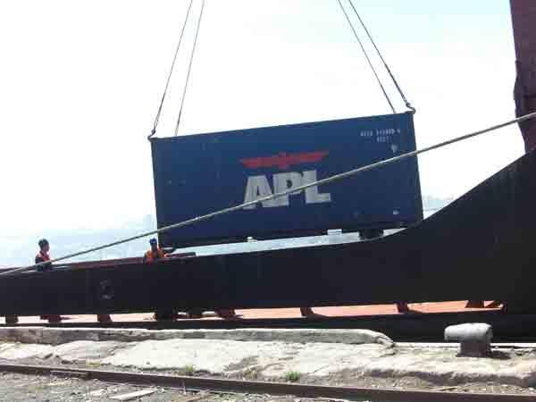 Military shipment from Baku till Afganistan