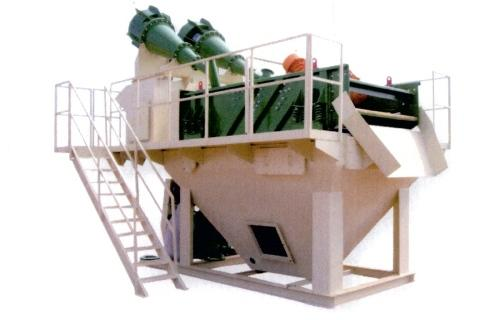 Sand washing and recovery - cyclonic separation units
