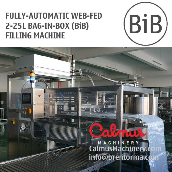 5 Litre 10 and 20 Litre WEB Fed Bag in Box Filler - Fully-automatic Filling Machine for 5, 10 and 20 Litre Bag in Box