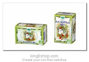 "Tisanes Bio Eucalyptus ""Romon Nature"" - Référence : EUCALYPTUS"